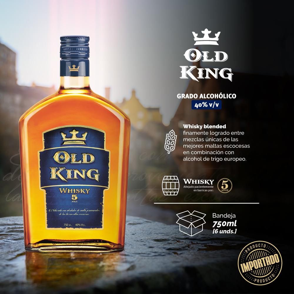 OLD KING -LICORAM-DETALLES